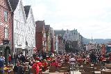 Bergen_469_06272019 - Looking across the busy Bryggen near lunch time