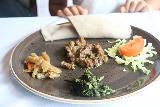 Bergen_509_06272019 - Tahia's kid-sized dish served up at Naomi in Bergen