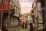 Bergen_515_06272019 - Walking through some of the alleyways of the Bergen sentrum as we left Naomi and headed to the Floibanen