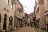 Bergen_517_06272019 - Walking through another one of the alleyways of the Bergen sentrum as we headed towards the Floibanen