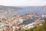 Bergen_563_06272019 - Classic view over the Bergen waterfront from the top of Mt Floyen