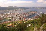 Bergen_573_06272019 - Another contextual look at the Bergen waterfront with the tracks of the Floibanen as context
