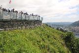 Bergen_575_06272019 - Looking towards the lookout infrastructure atop Mt Floyen