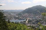 Bergen_632_06272019 - Looking towards the southeast of Bergen while walking down to the city from Mt Floyen