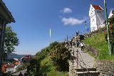 Bergen_667_06272019 - Another look towards the start of the final descent to the Bergen sentrum from Mt Floyen