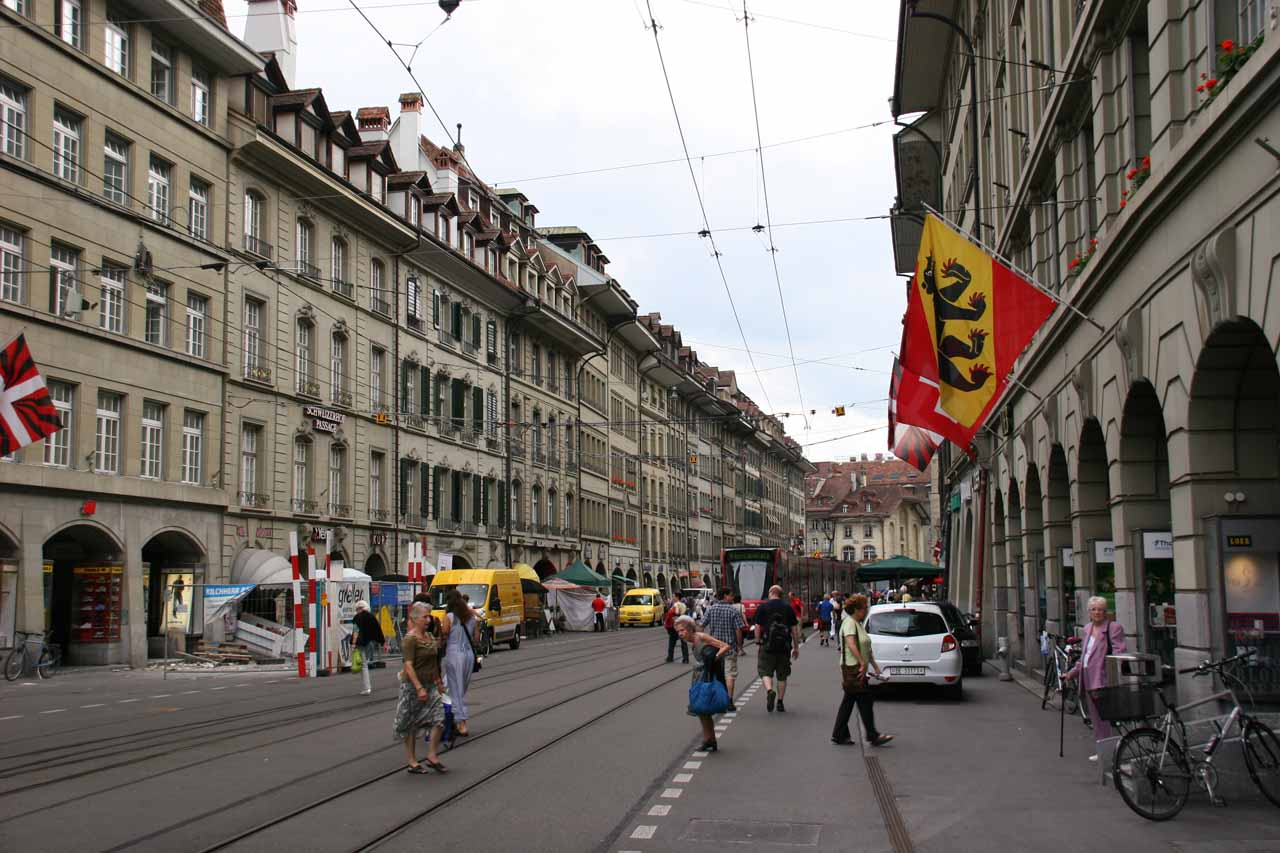 Walking about in the Old Bern