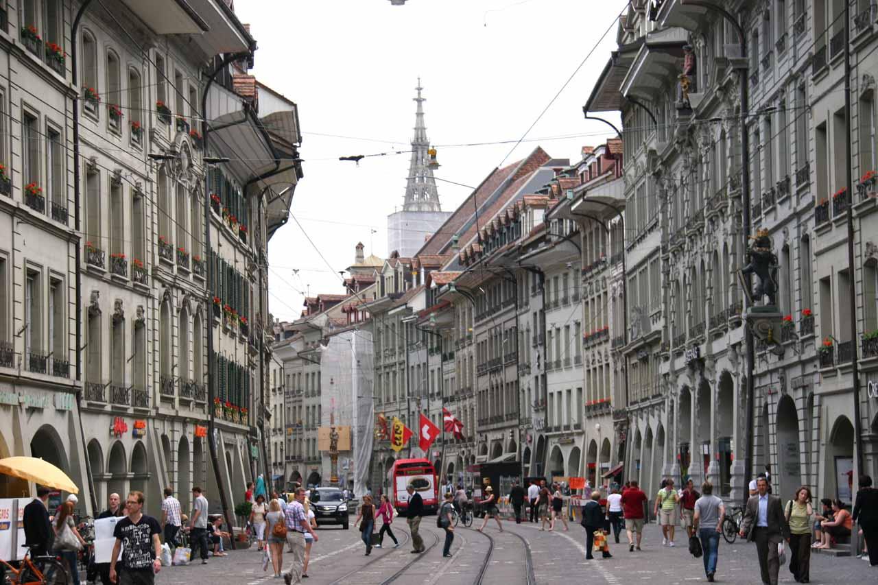More strolling through Old Bern
