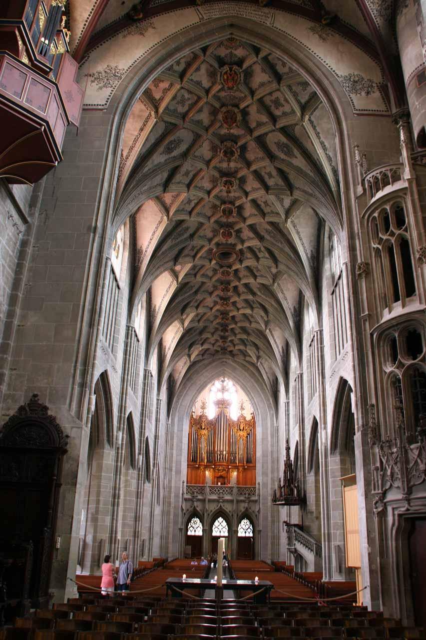 Inside the Munster Church