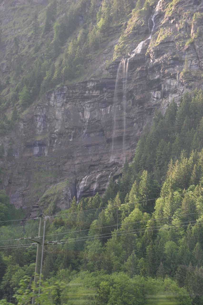 Some waterfall seen on the way to Zweilütschinen