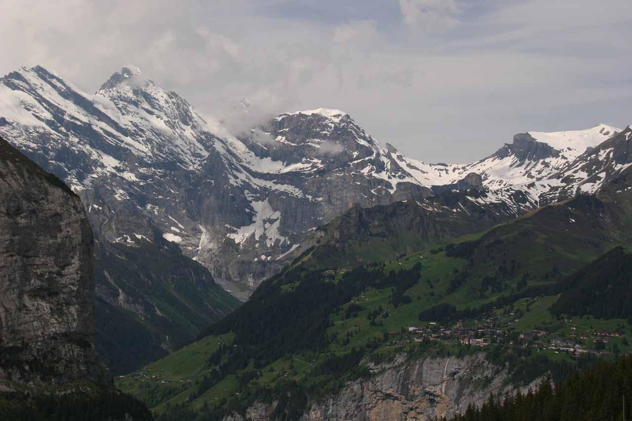 Classic Swiss Alps scenery