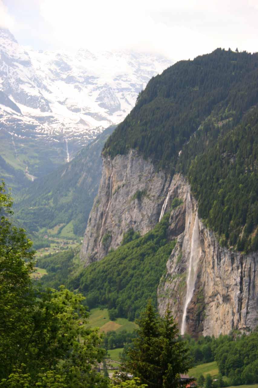Staubbachfalle, Agertenbachfalle, and Murrenbachfalle from Wengen