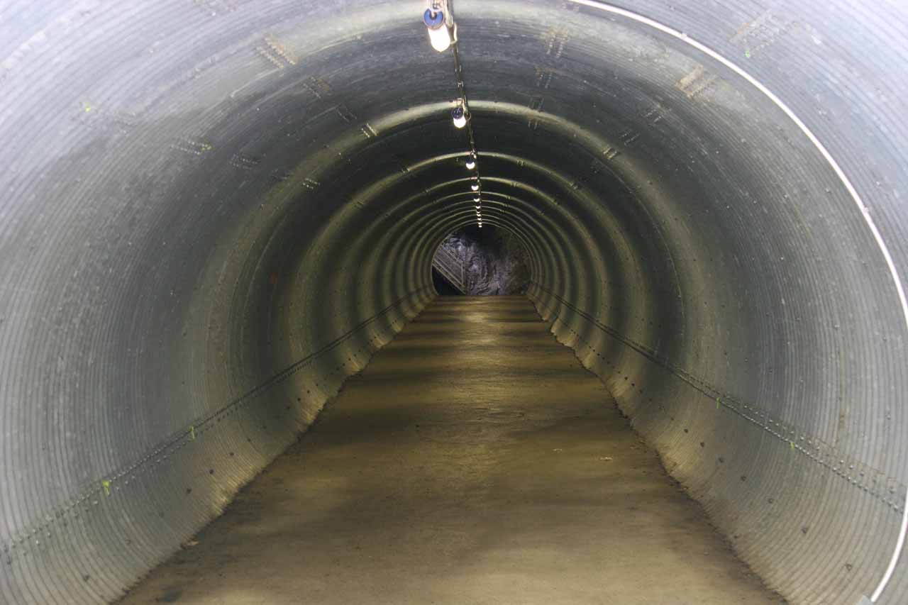 The tin tunnel