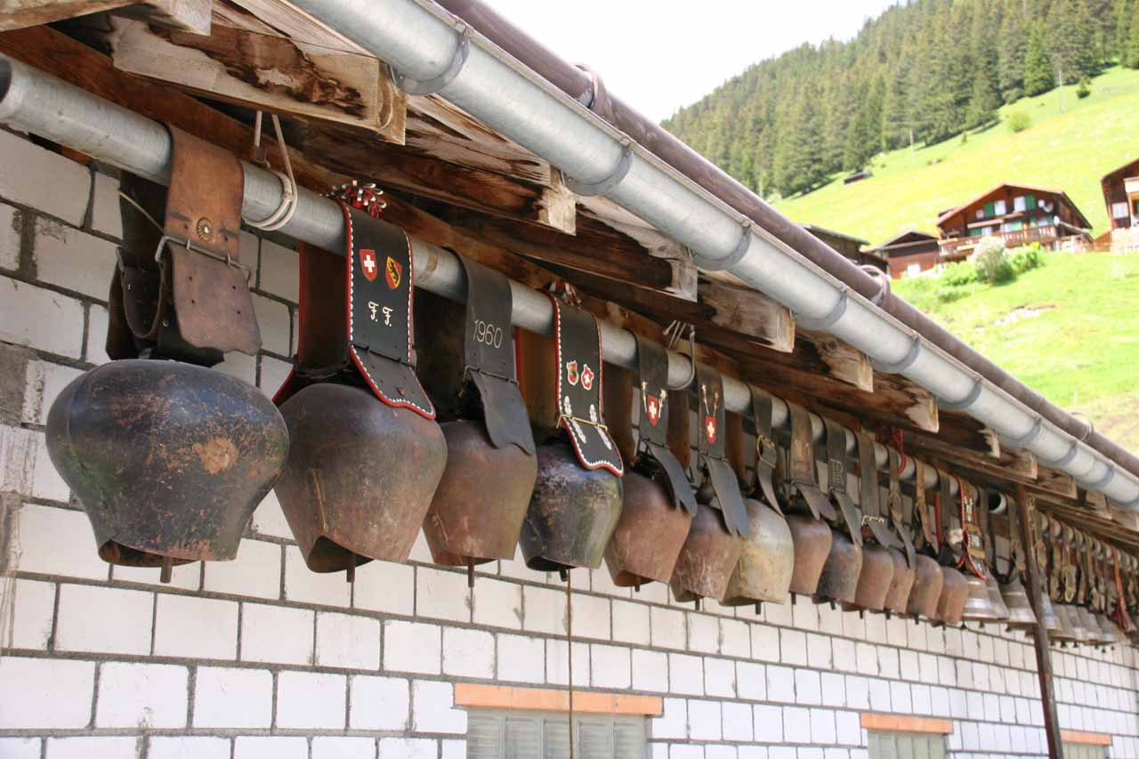 Idle giant cowbells