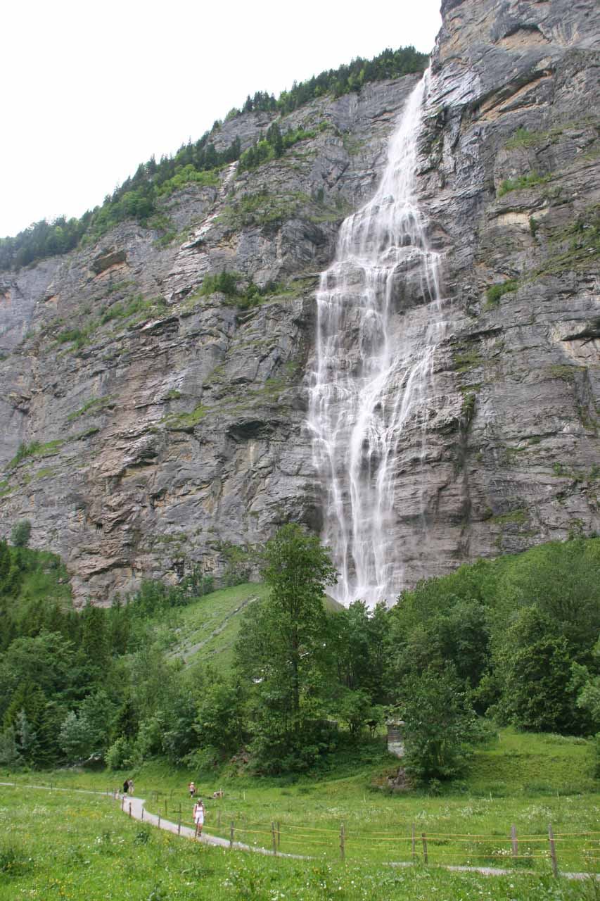 Murrenbach Falls or Mürrelbachfälle