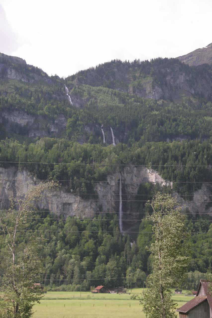 And another waterfall between Brienz and Meiringen