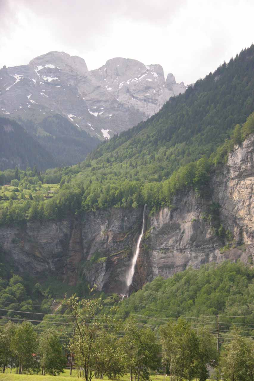 A waterfall near Meiringen