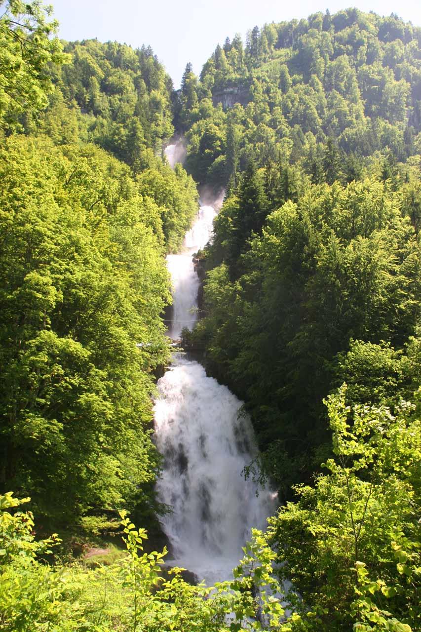 Giessbach Falls or Giessbachfälle