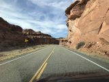 Bicentennial_Hwy_95_006_iPhone_04012018 - Driving through canyon scenery near Hite Overlook whilst on the Hwy 95