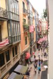 Bilbao_003_06132015 - Looking down at the Calle Jardines in the Casco Viejo of Bilbao