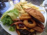 Bistro_107_002_iphone_07132016 - This time I had the Billy's Best Burger from Bistro 107 with the bun instead of doing it protein style