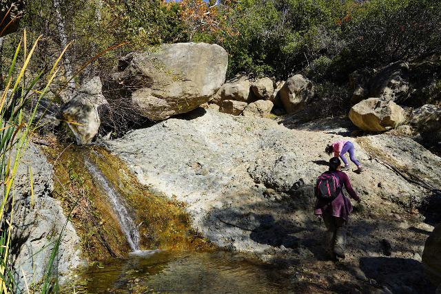 Black_Star_Canyon_Falls_169_01042020 - The hike to Black Star Canyon Falls involved a lot of physical exertion, which was one big reason why we had to wait until our daughter was nimble enough to give it a try