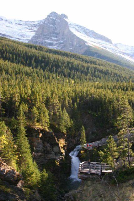 Blackiston_Falls_065_09222010 - Blakiston Falls set amidst some majestic scenery