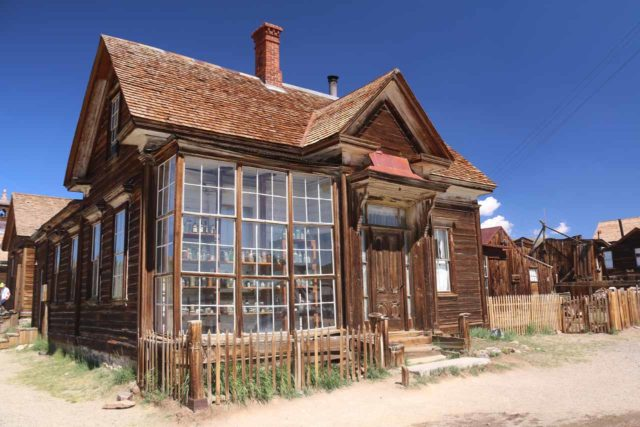 Bodie_106_08032015 - Between Lee Vining and Bridgeport, a dirt road led to the well-preserved and very popular ghost town of Bodie, which felt very authentic, had educational value, and the kids really enjoyed their visit