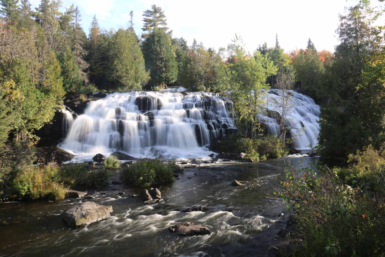 Close to both Paulding and Agate Falls was the 'hidden gem' known as Bond Falls, which was certainly the most impressive waterfall in the Western UP