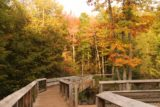 Bond_Falls_121_09282015 - Nice Autumn colors surrounding the boardwalk for Bond Falls