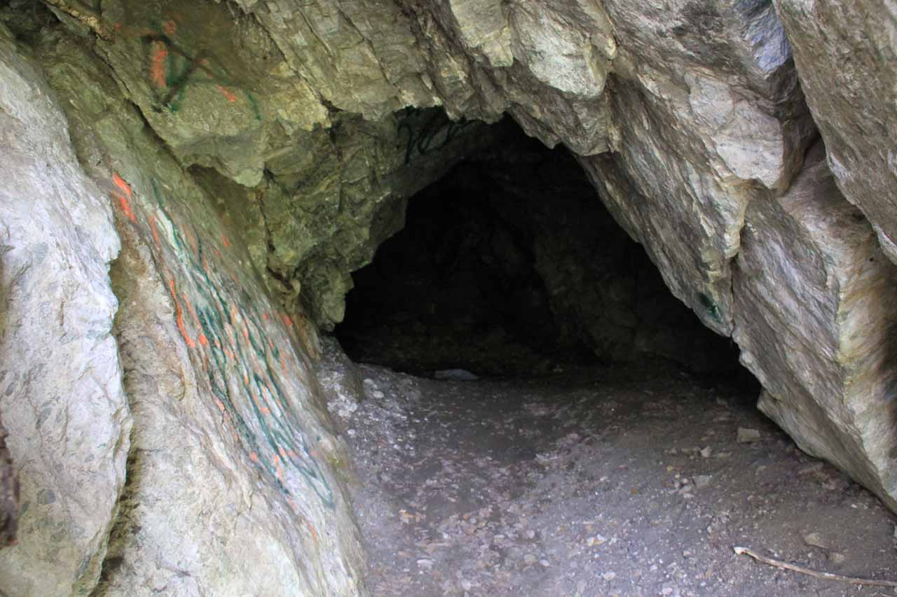 Another one of the caves I checked out
