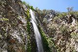 Bonita_Falls_100_06122020 - Angled look up at the top of Bonita Falls from its base