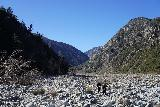 Bonita_Falls_107_01182021 - Back in the wash of South Fork Lytle Creek, where we could breathe easier again as we made our way back to the Lytle Creek Road