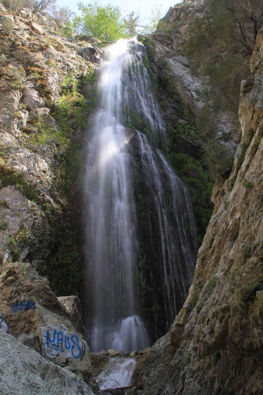 Bonita Falls San Bernardino National ForestRancho Cucamonga - California waterfalls map