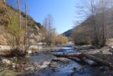 Bonita_Falls_15_014_12312015 - Looking downstream from the spot where we crossed Lytle Creek during our second visit here, which happened in late 2015 (and it was also a dry year)