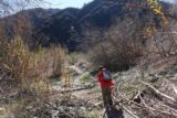 Bonita_Falls_15_017_12312015 - Julie and Tahia hiking past Lytle Creek and past the campground
