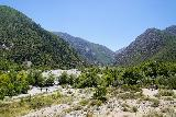 Bonita_Falls_243_06122020 - Looking across the context of Lytle Creek and the bouldery wash we had just hiked on as seen from Lytle Creek Road at the end of our Bonita Falls June 2020 visit