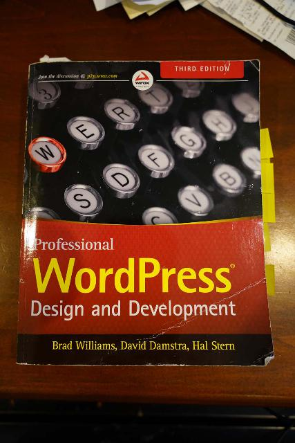 One of the books that I have read to improve my understanding of how WordPress works