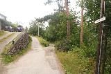 Bordalsgjelet_019_07232019 - Towards the end of Russarvegen, I got to a potentially confusing three-way fork, where the middle one was the one that led me to Bordalsgjelet