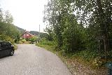 Bordalsgjelet_027_07232019 - When I got to the next road, I saw a reassuring Bordalsgjelet sign leading me further uphill along the Gjernesmoen street