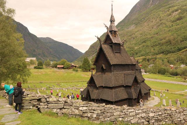 Borgund_055_07222019 - The biggest draw to the Lærdal Valley had to have been the Borgund Stave Church, which was one of the oldest and largest of the preserved stave churches in Norway still standing