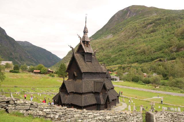 Borgund_062_07222019 - About an hour drive south of Øvre Årdal was the popular Borgund Stave Church, which was one of Norway's oldest surviving stave churches