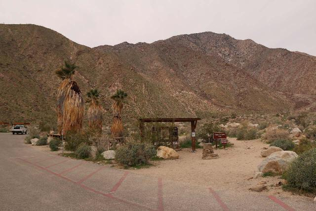 Borrego_Palm_Canyon_003_02092019 - Context of the the Borrego Palm Canyon Trailhead as seen from the parking lot