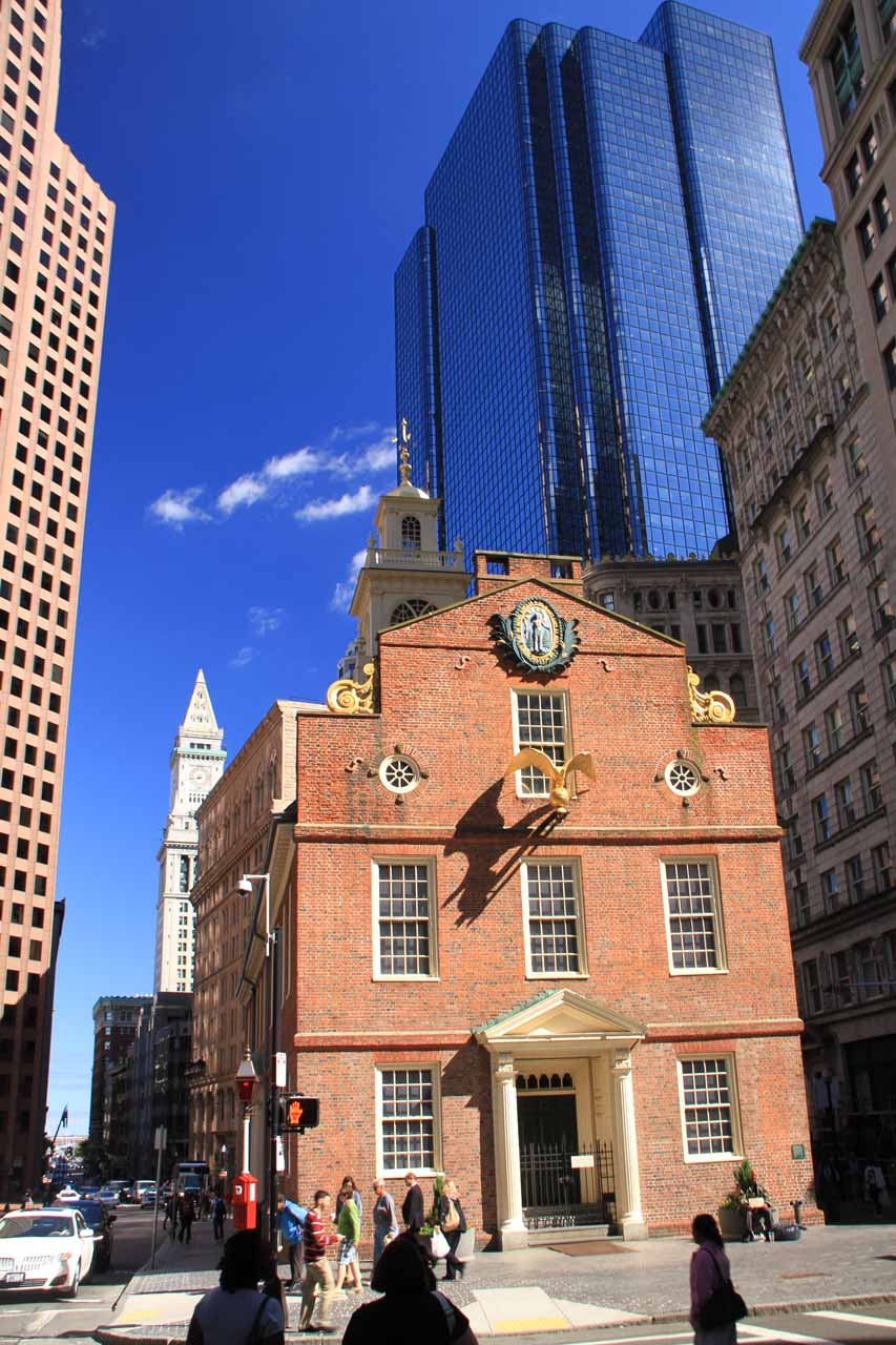 The Old State House - site of the Boston Massacre