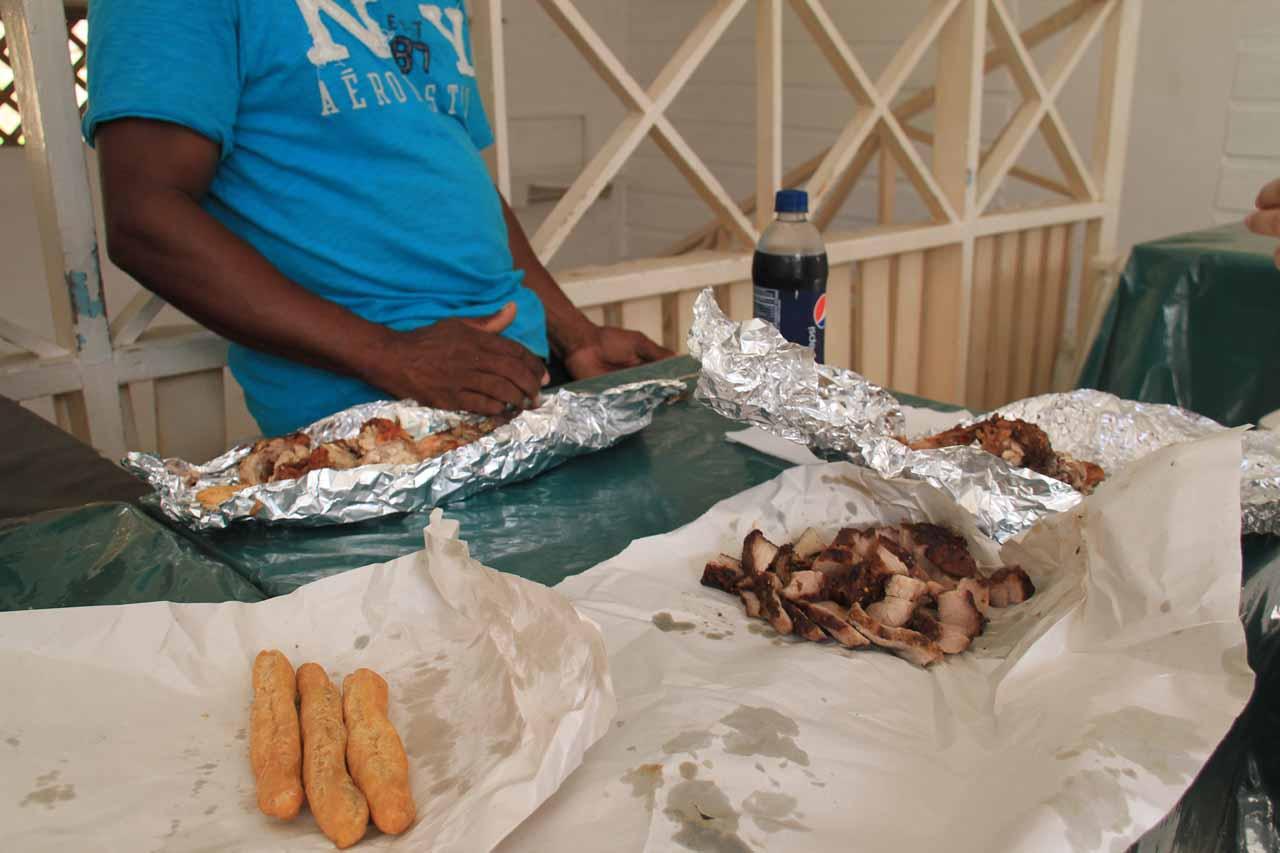 Festivals, Jerk Pork, and Jerk Chicken
