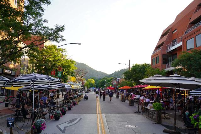Boulder_020_07262020 - The City of Boulder was a charming town with a bit of a youthful vibe thanks to the University of Colorado. They also figured out how to keep some restaurants open during COVID-19 by closing some historic downtown streets to vehicular traffic to accommodate outdoor seating