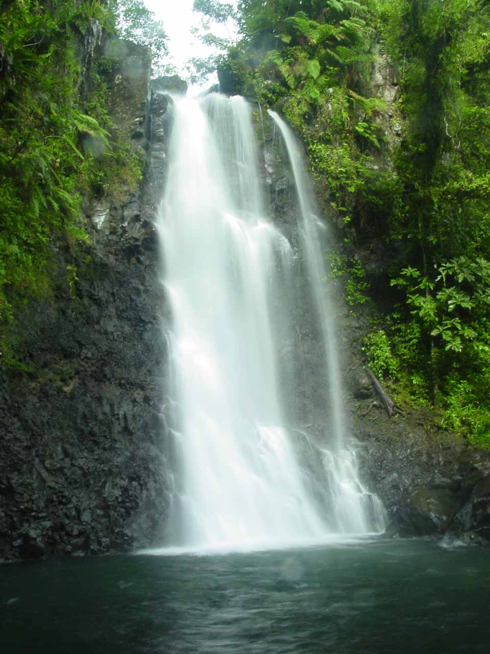 The Middle Tavoro Waterfall