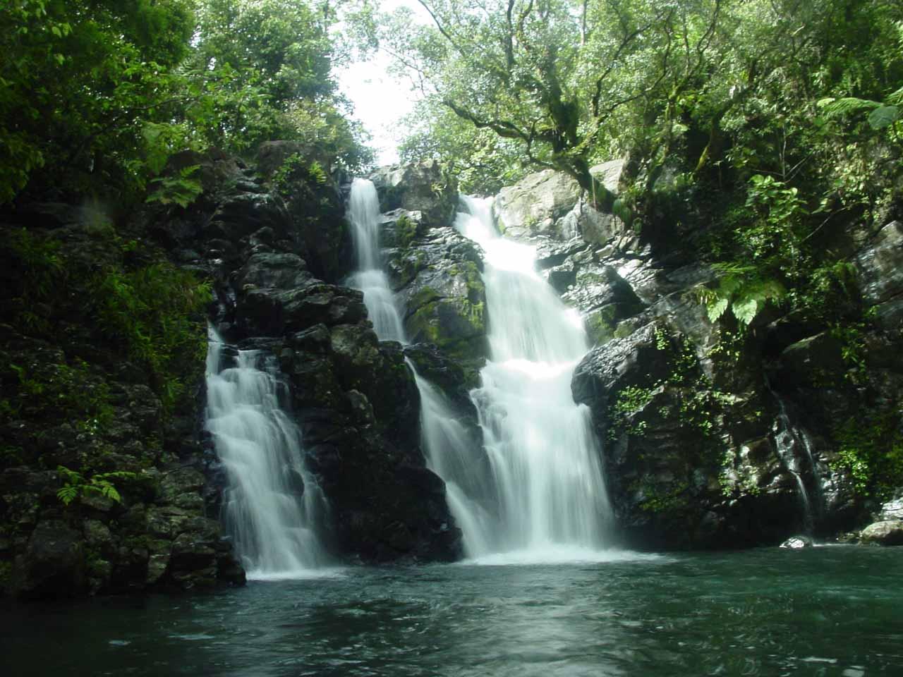 Finally, the Upper Tavoro Waterfall