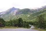 Boyabreen_024_07202019 - Looking back towards the access road leading to the Bøyabreen Glacier as seen from the car park before the cafe at Brævasshytta