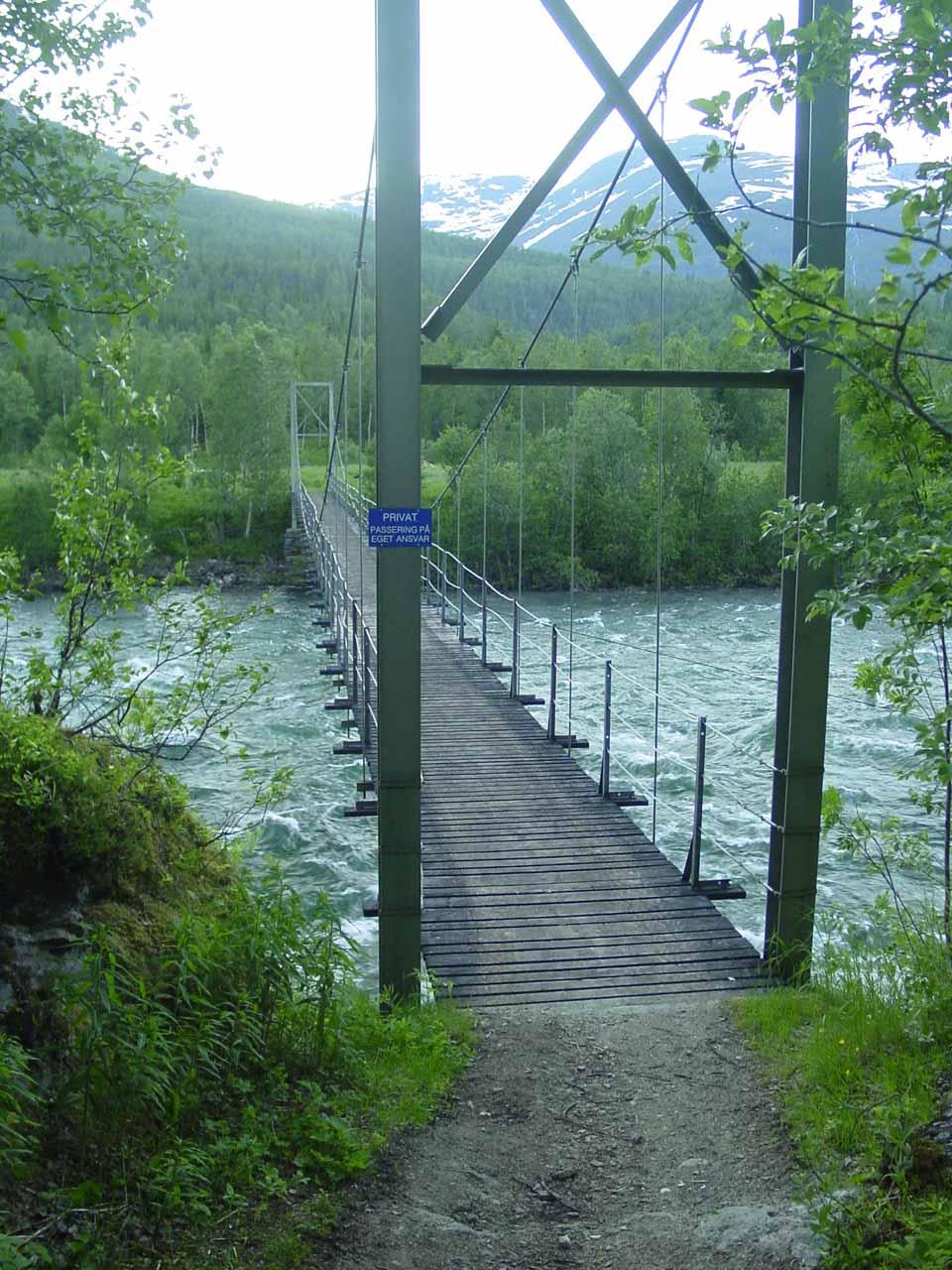 Topic long swinging bridge photos
