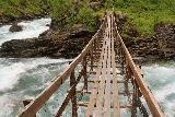 Bredekfossen_102_07092019 - This ought to give you an idea of why the signs suggest no more than one person stand on this bridge (over the Tespa) at a time